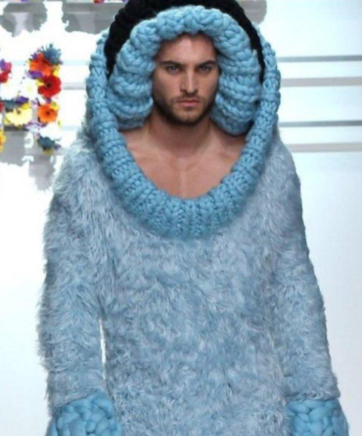 Vestido Azul Ballena para hombre