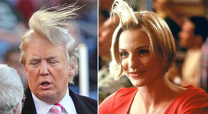 Donald Trump Parecidos Razonables Algo pasa con Mary