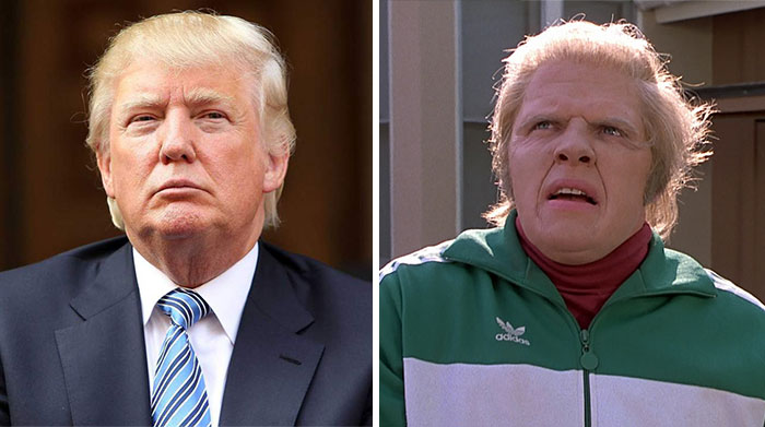 Donald Trump Parecidos Razonables Regreso Futuro