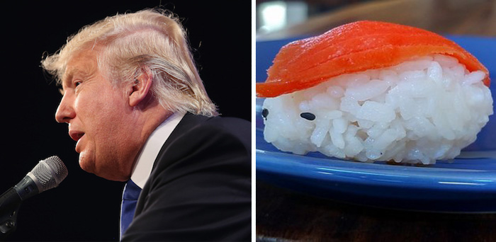 Donald Trump Parecidos Razonables sushi