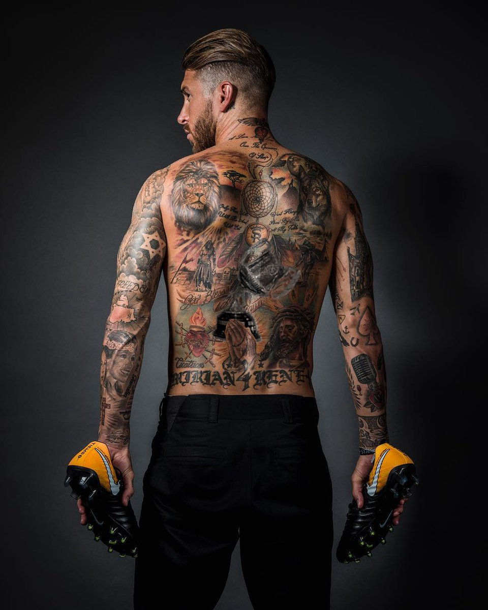 Alternativa a tatoos de Sergio Ramos