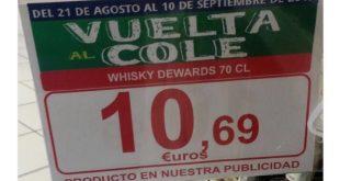 Vuelta al cole con whisky