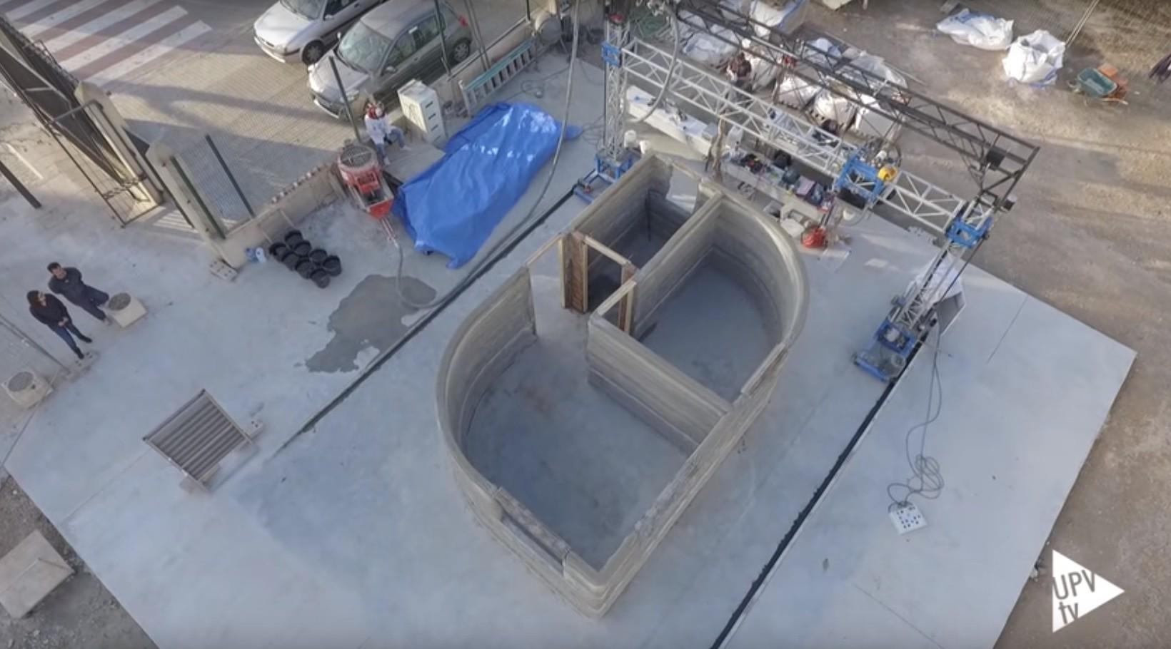 Casa construida impresora 3D en Valencia
